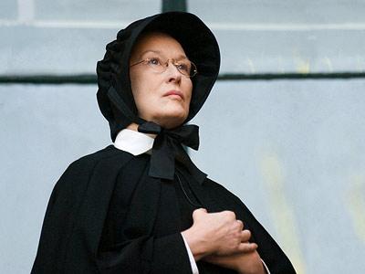 Meryl Streep, haciendo una interpretación muy bien lograda