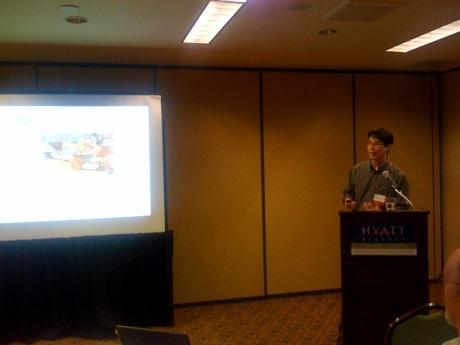 Greg Yang at the Catholic Library Association Meeting on April 16, 2009, Hyatt, Anaheim