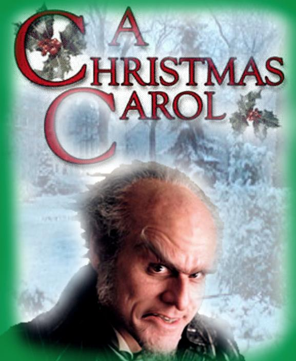 A Christmas Carol Animated Movie Jim Carrey