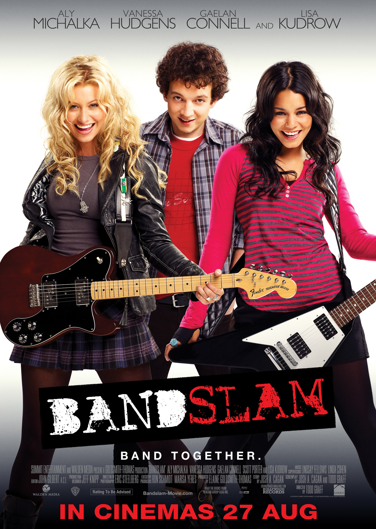 """bandslam a4 poster """"Justin Bieber: Never Say Never"""" showed the teen singer's drive for success."""