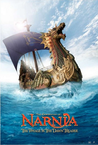 chronicles of narnia voyage of the dawn treader opens today